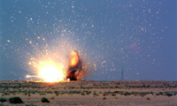 Под Астраханью солдат погиб от осколков ракеты