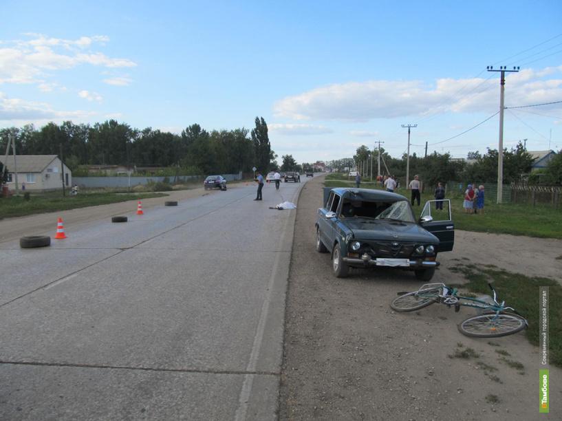 На тамбовских дорогах в ДТП попали 4 несовершеннолетних велосипедиста и мотоциклиста
