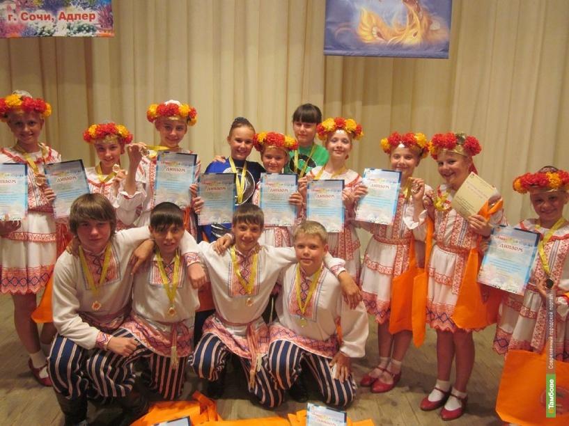 Танцоры из Мичуринска показали высокие результаты на фестивале «Коралловый остров»