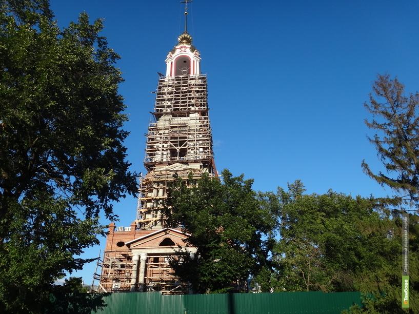 В Тамбове зазвонила самая высокая колокольня