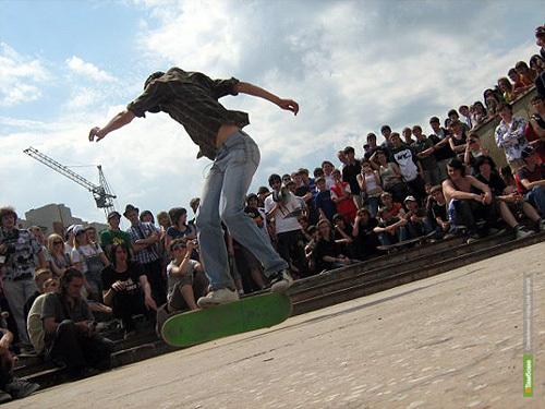 Тамбовские скейтеры готовятся открыть сезон