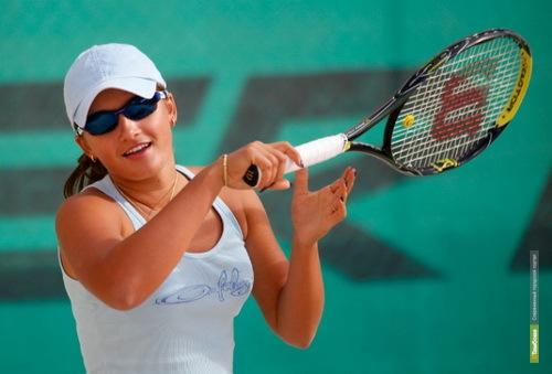 Тамбовская теннисистка «провалилась» в первом же круге открытого чемпионата
