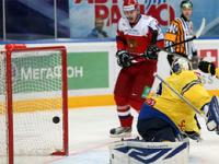 Российские хоккеисты обыграли шведов в матче Кубка Первого канала