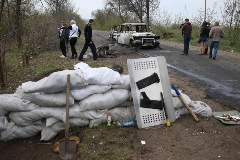 МИД РФ: Россия возмущена провокацией в Славянске