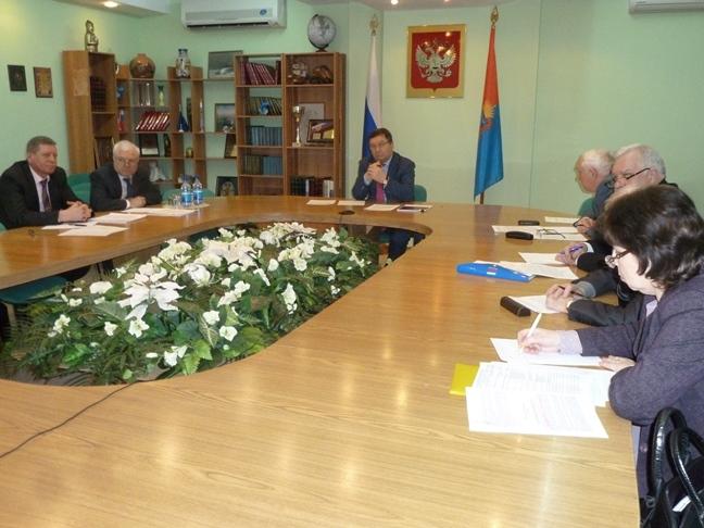 Олег Бетин принял участие в видеоконференции с министром транспорта РФ