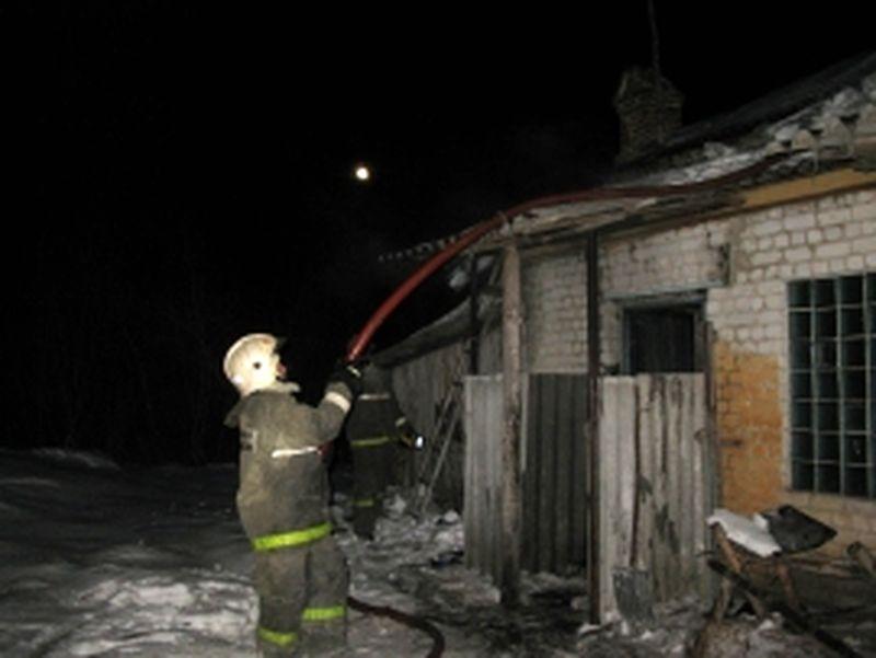 В результате пожара в жилом доме погиб человек