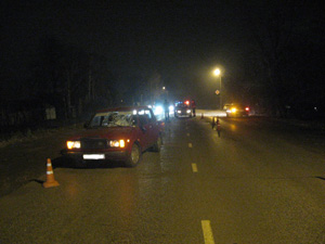 В Моршанске «семерка» сбила пешехода