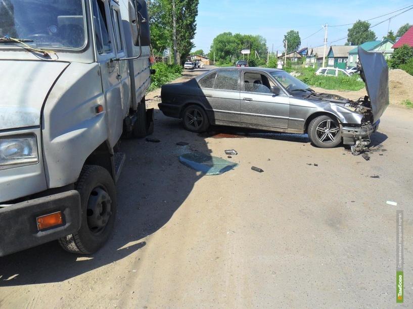 53-летняя тамбовчанка пострадала под колесами BMW