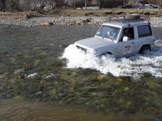 «Хендай Галлопер» утонул на Тамбовщине с тремя людьми в салоне