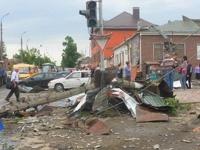 Внезапный смерч в Тульской области повредил более 200 зданий