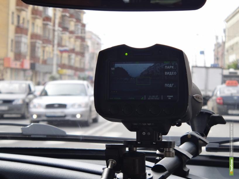 За 11 месяцев тамбовчане более 20 тысяч раз нарушили правила парковки