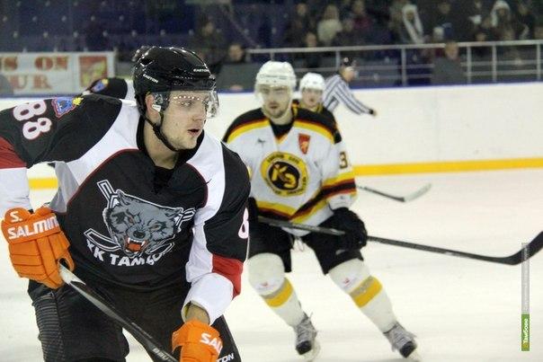 Хоккеисты Тамбова отправились в Смоленск
