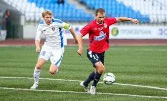 Тамбовские футболисты проиграли на выезде