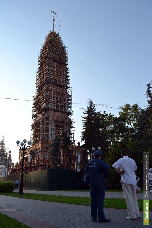 На колокольне в центре Тамбова появились 2 новых рубина