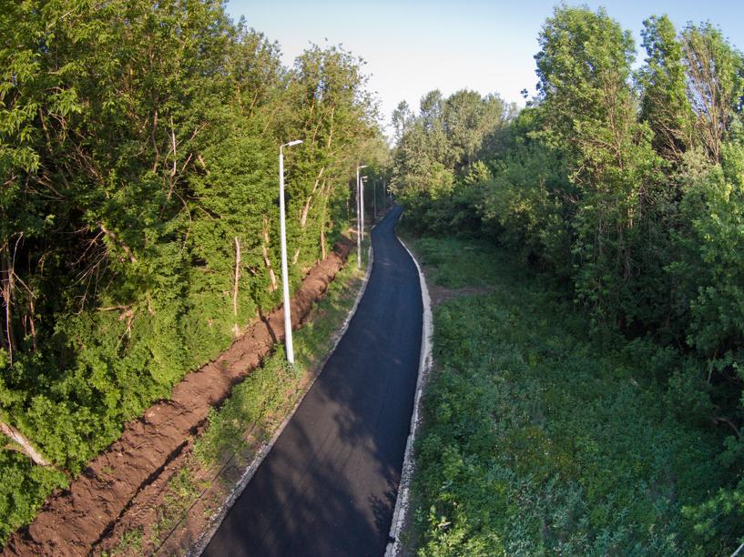 Мотоциклистов больше не пустят на лыже-роллерную трассу парка Дружбы