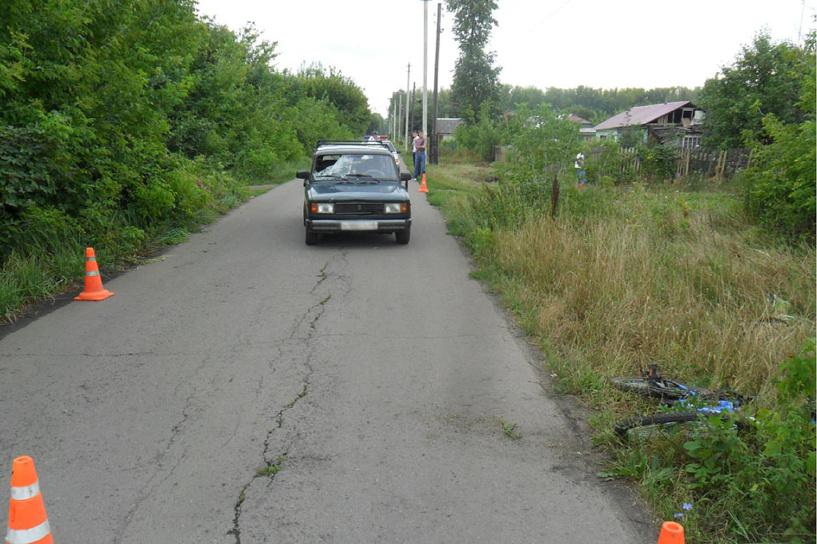 В Мичуринске подросток попал под машину