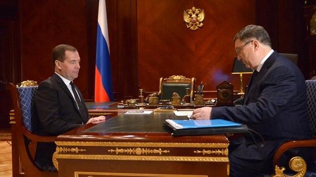 Олег Бетин встретился с премьер-министром