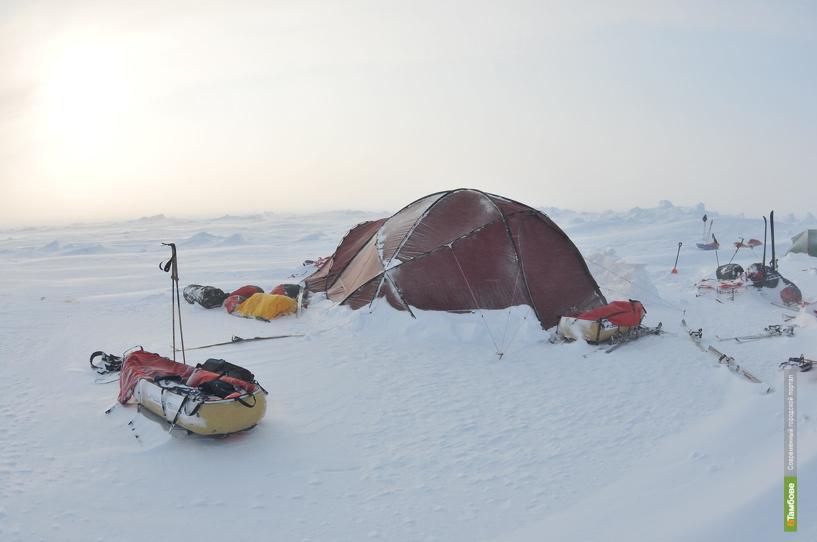 Кадет из Тамбова отправился к Северному полюсу
