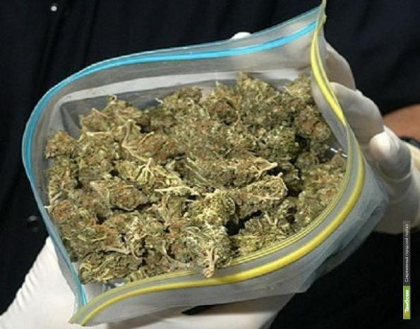 На Тамбовщине поймали наркоторговца с тремя килограммами марихуаны