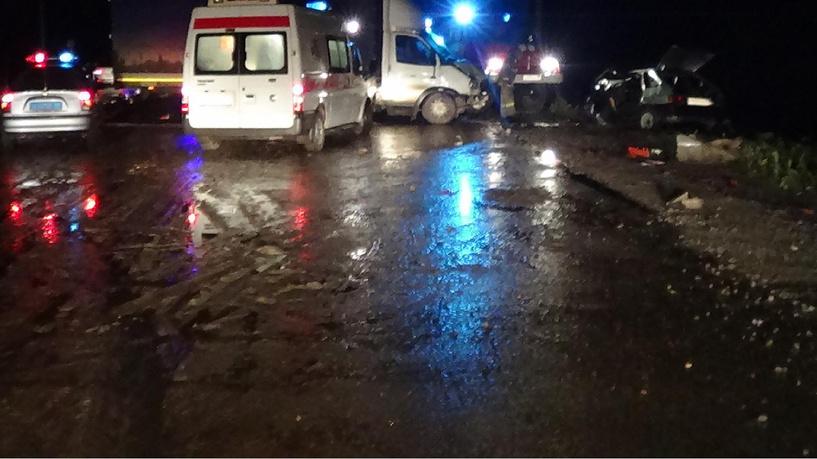 Стали известны подробности столкновения трёх авто в Никифоровском районе
