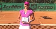 Тамбовская теннисистка стала лучшей в одиночном и парном разрядах турнира ITF