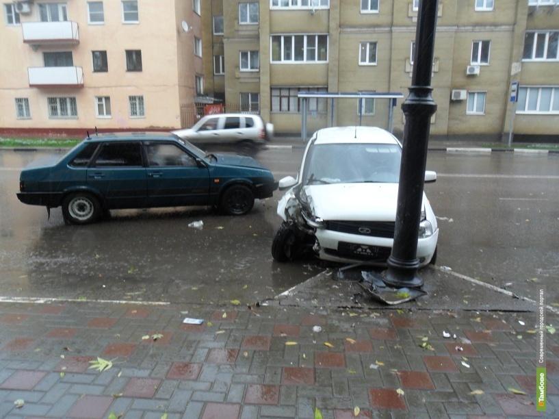 В Тамбовской области на 100 пострадавших в ДТП приходится 7 погибших
