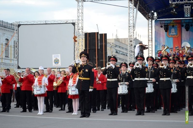 По улицам Тамбова пройдет парад духовых оркестров