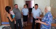 Полицейские проведали приехавших на Тамбовщину жителей Украины