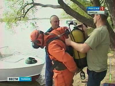 """Водолазы обследовали дно """"Тамбовского моря"""" и Ласковского карьера"""