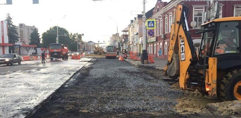 В Тамбове после ремонта сетей открыли Советскую