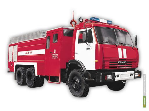 Тамбовские огнеборцы пересели на КАМАЗы и УРАЛы
