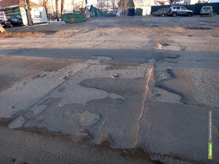 В Тамбове наконец-то отремонтируют многострадальную улицу Пролетарскую