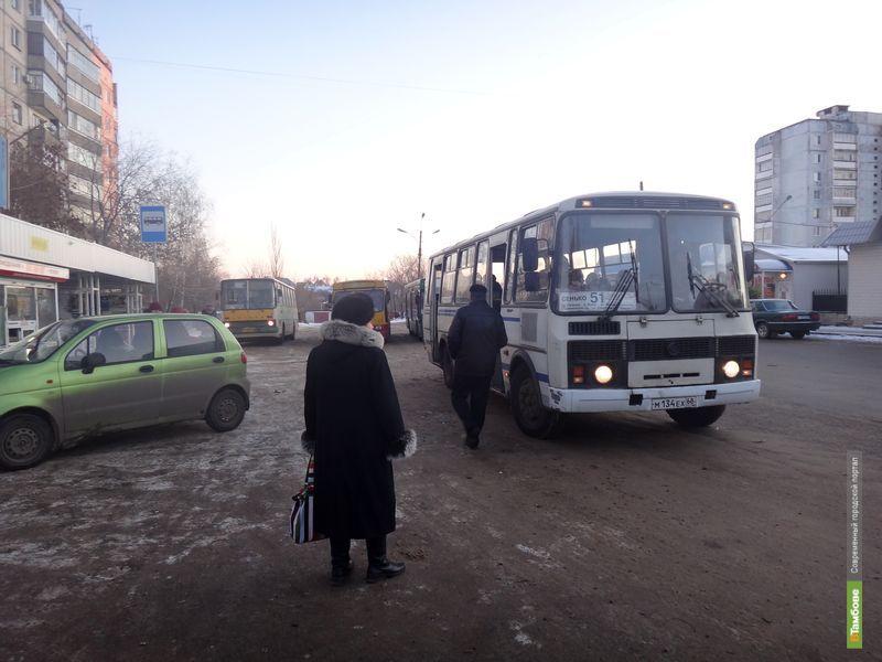 Тамбовские автобусы на один день изменят маршруты