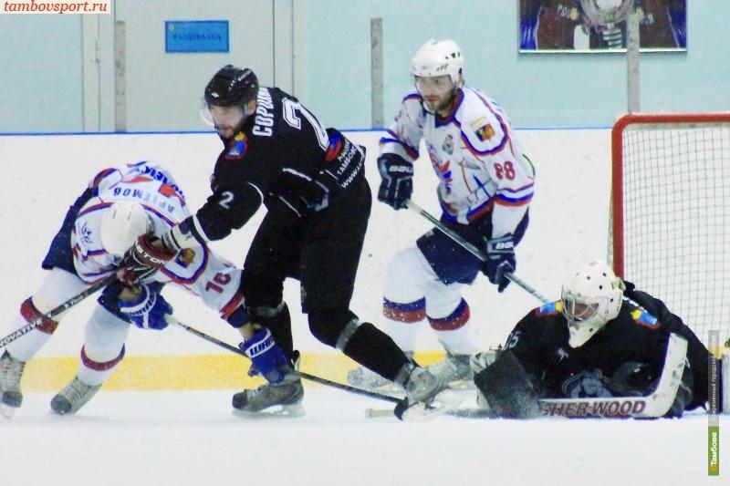 Вратари ХК «Тамбов» пропустили 6 шайб за матч