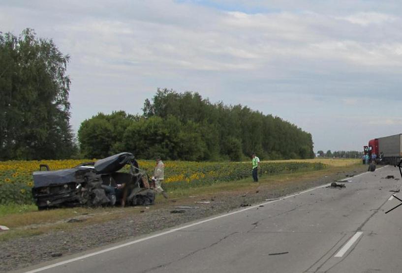 На территории Тамбовской области в ДТП погибли двое рязанцев