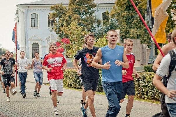 Тамбовчане выйдут на старт «Русской пробежки»