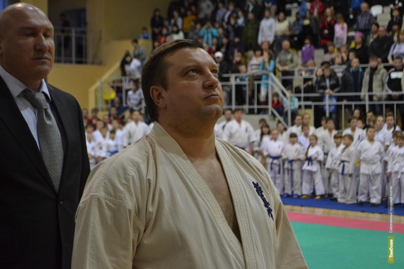 Глава Тамбова сдал экзамен по каратэ на 5-й кю