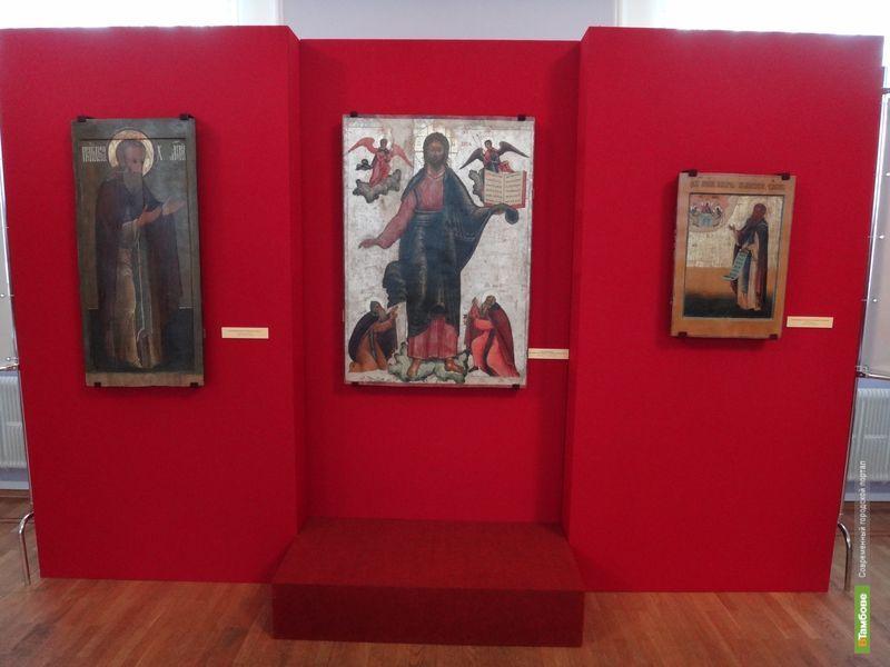 В Тамбов привезли старинные иконы