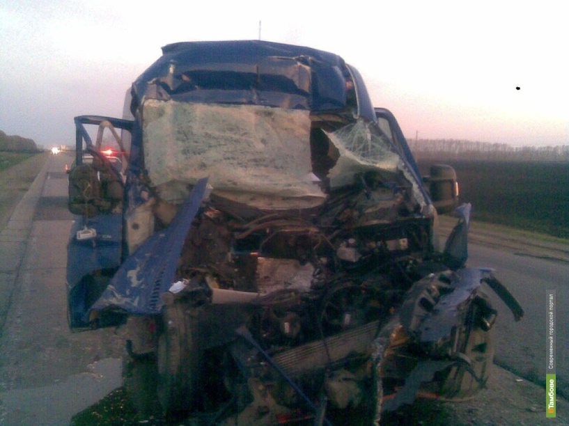 Водитель КАМАЗа погиб в ДТП на Тамбовщине