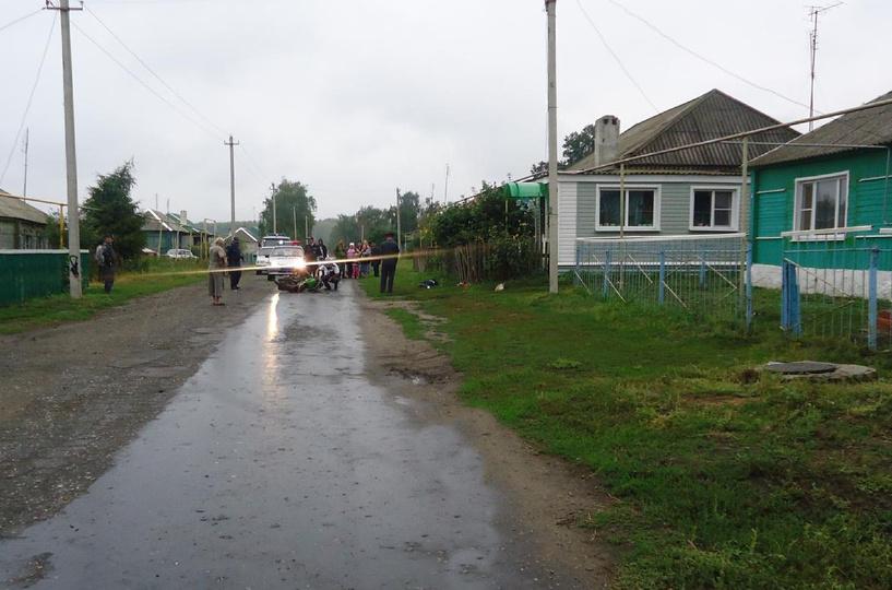 В Мордово насмерть разбился молодой мотоциклист
