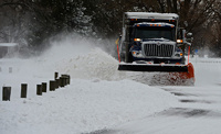 Сильнейший за последние 100 лет снегопад обрушился на Америку