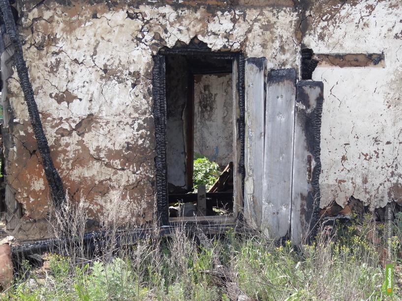 Тамбовчанин сгорел в собственном доме