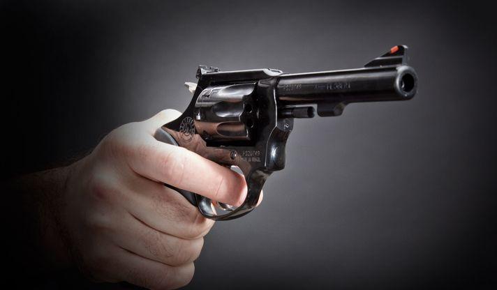 У молодого человека изъяли переделанный револьвер