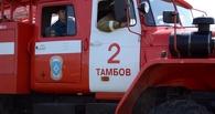 Под Моршанском горел грузовик