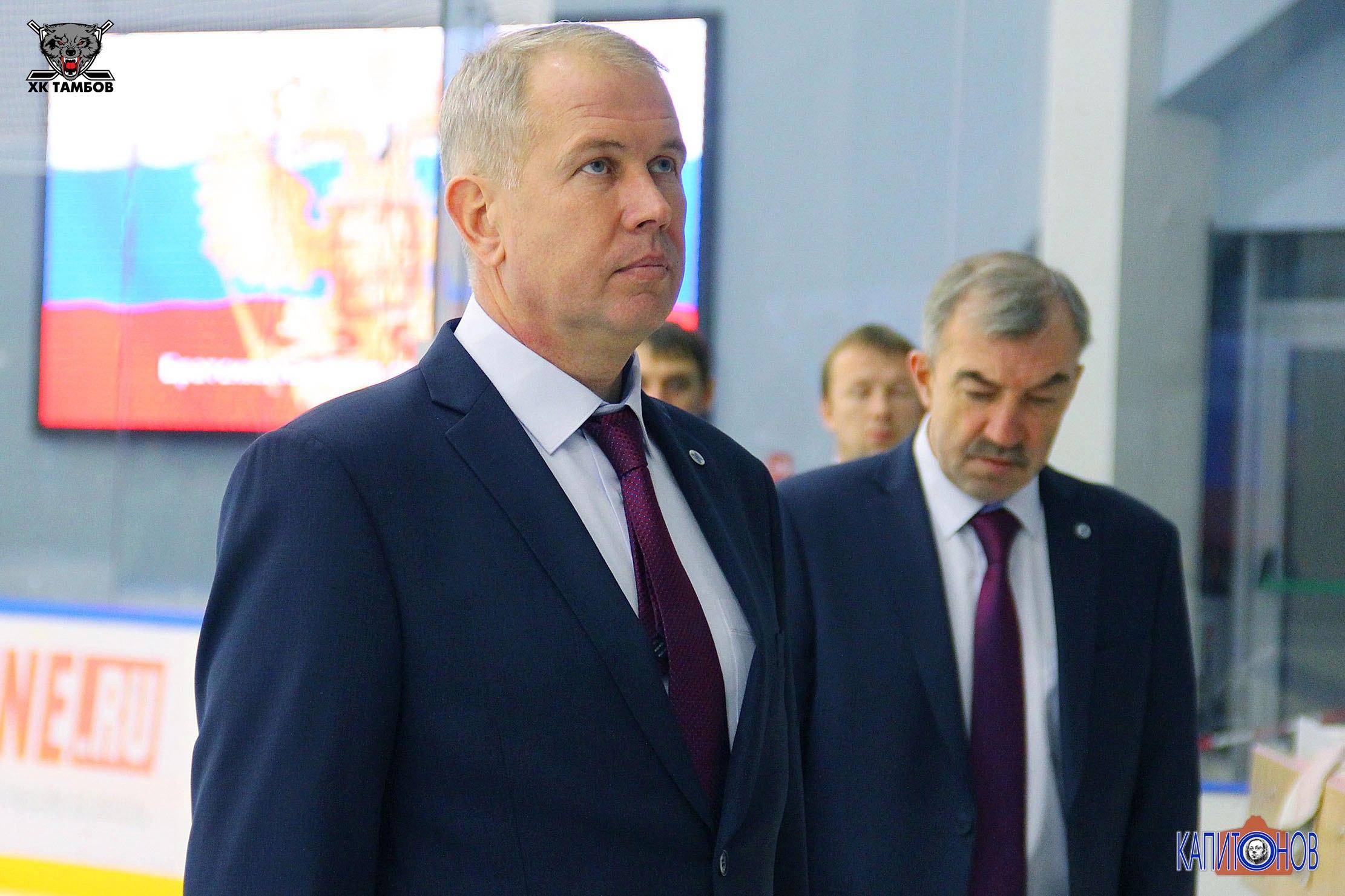 В 2-х матчахХК «Тамбов» оказался сильнее конкурента