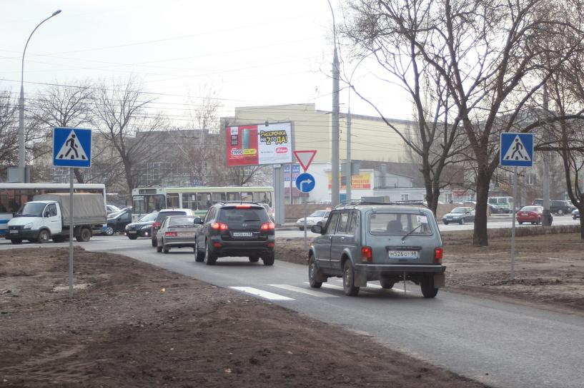 В областном центре открыли правоповоротный съезд с бульвара Энтузиастов на Советскую