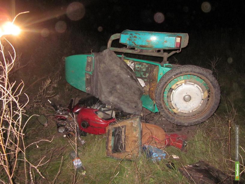 В Инжавинском районе погиб мотоциклист