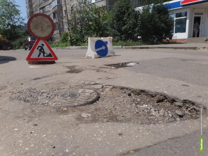 Тамбовчане жалуются губернатору на неГОСТовские дороги