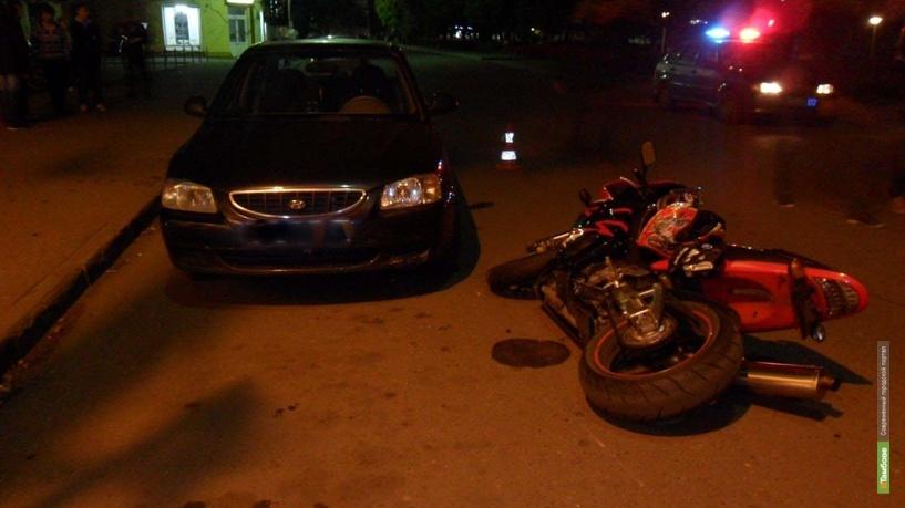 33-летний тамбовчанин на мотоцикле сбил школьницу