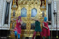 В Храме Христа Спасителя, оказывается, можно танцевать